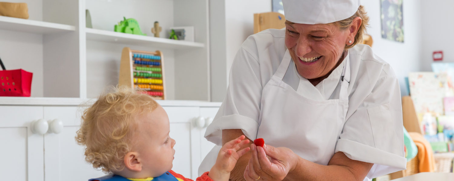 Cook with toddler